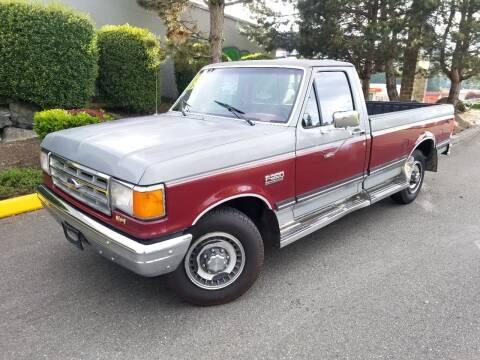 1988 Ford F-250 for sale at SS MOTORS LLC in Edmonds WA