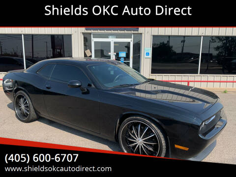 2013 Dodge Challenger for sale at Shields OKC Auto Direct in Oklahoma City OK