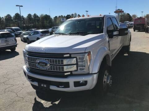 2017 Ford F-450 Super Duty for sale at BILLY HOWELL FORD LINCOLN in Cumming GA