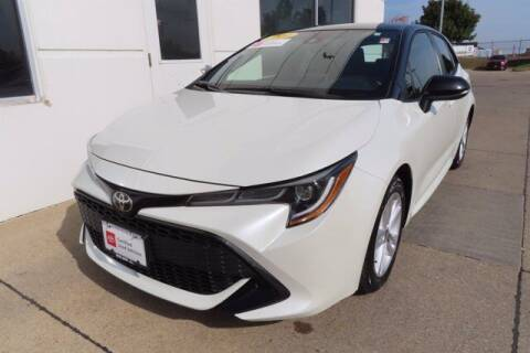 2020 Toyota Corolla Hatchback for sale at HILAND TOYOTA in Moline IL