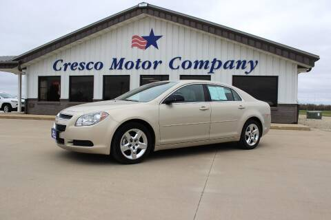 2011 Chevrolet Malibu for sale at Cresco Motor Company in Cresco IA