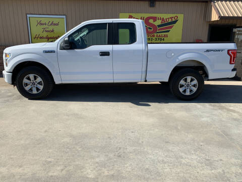 2015 Ford F-150 for sale at BIG 'S' AUTO & TRACTOR SALES in Blanchard OK