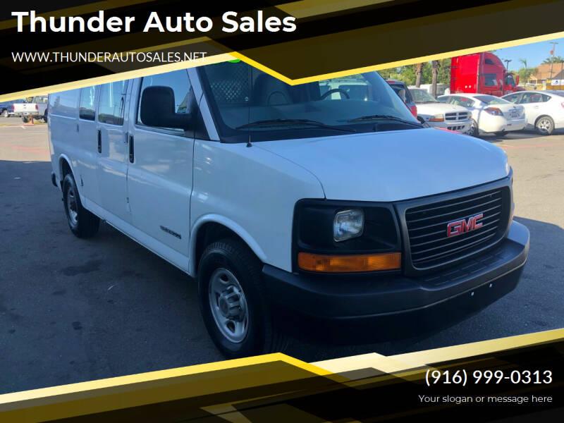 2003 GMC Savana Cargo for sale at Thunder Auto Sales in Sacramento CA