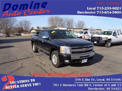 2010 Chevrolet Silverado 1500 for sale at Domine Auto Center in Loyal WI