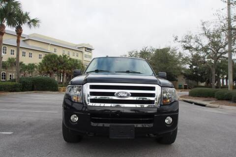 2012 Ford Expedition EL for sale at Gulf Financial Solutions Inc DBA GFS Autos in Panama City Beach FL
