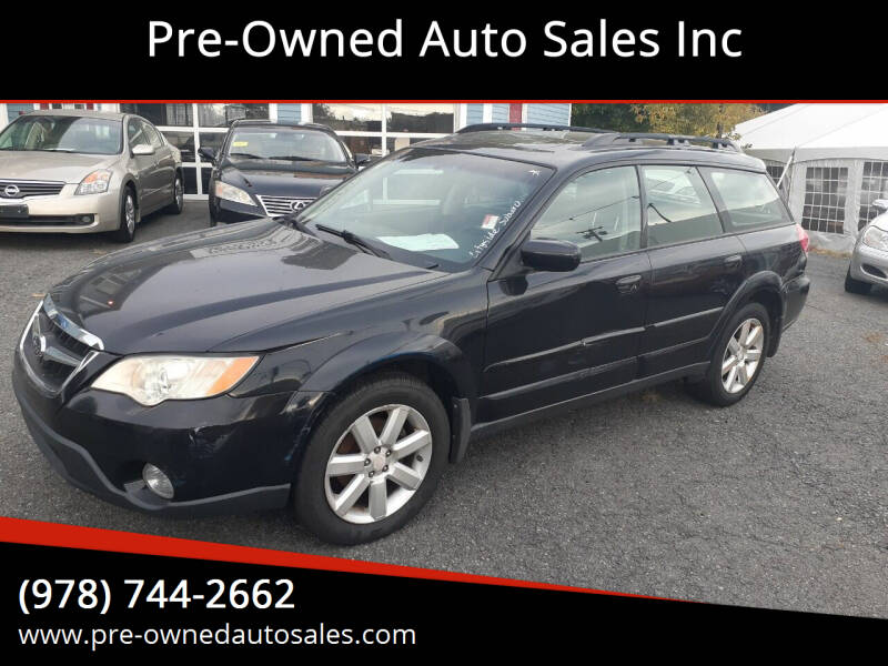 2008 Subaru Outback for sale at Pre-Owned Auto Sales Inc in Salem MA