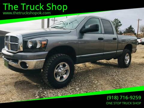 2006 Dodge Ram Pickup 2500 for sale at The Truck Shop in Okemah OK