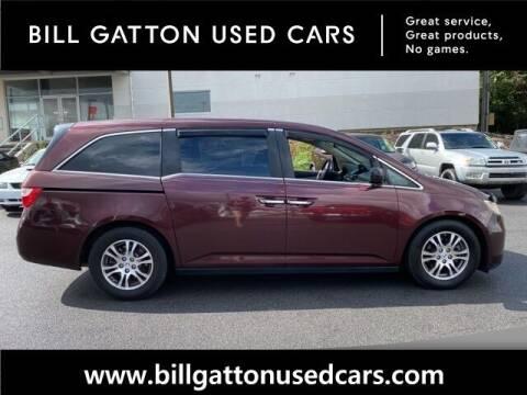 2012 Honda Odyssey for sale at Bill Gatton Used Cars in Johnson City TN