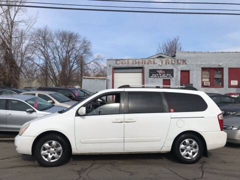 2007 Kia Sedona for sale at Dan's Auto Sales and Repair LLC in East Hartford CT