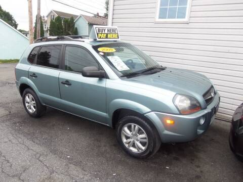 2009 Hyundai Tucson for sale at Fulmer Auto Cycle Sales - Fulmer Auto Sales in Easton PA