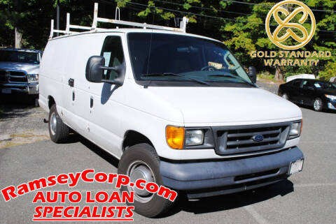 2006 Ford E-Series Cargo for sale at Ramsey Corp. in West Milford NJ