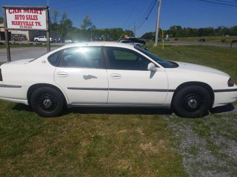 2002 Chevrolet Impala for sale at CAR-MART AUTO SALES in Maryville TN