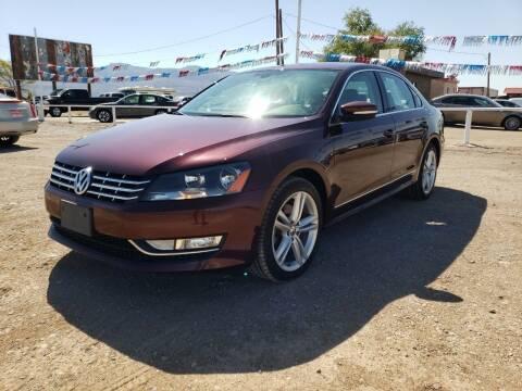 2012 Volkswagen Passat for sale at Bickham Used Cars in Alamogordo NM