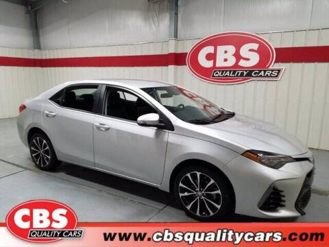 2017 Toyota Corolla for sale at CBS Quality Cars in Durham NC