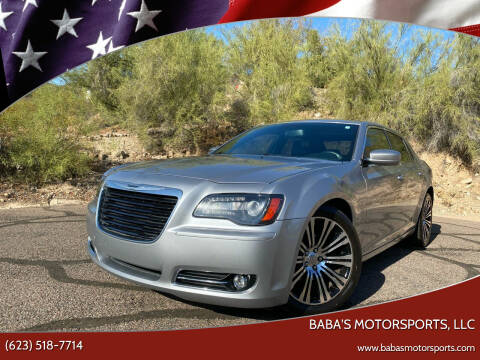 2014 Chrysler 300 for sale at Baba's Motorsports, LLC in Phoenix AZ