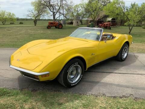 1972 Chevrolet Corvette for sale at STREET DREAMS TEXAS in Fredericksburg TX
