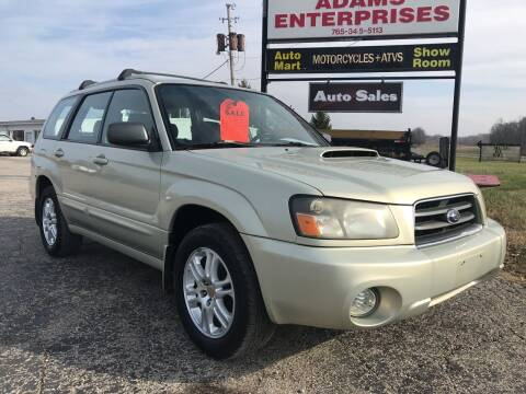 2005 Subaru Forester for sale at Adams Enterprises in Knightstown IN