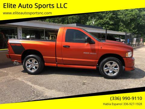 2005 Dodge Ram Pickup 1500 for sale at Elite Auto Sports LLC in Wilkesboro NC