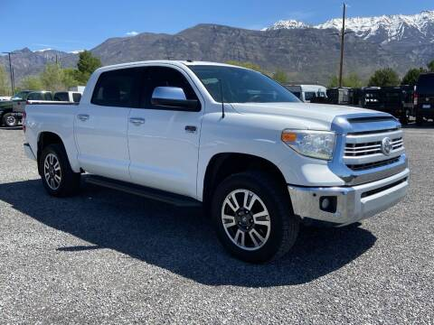 2015 Toyota Tundra for sale at Shamrock Group LLC #1 in Pleasant Grove UT