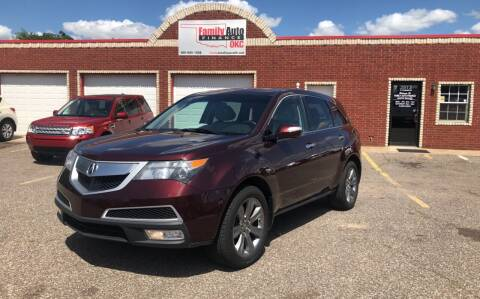 2011 Acura MDX for sale at Family Auto Finance OKC LLC in Oklahoma City OK