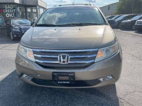 2011 Honda Odyssey for sale at A&R Motors in Baltimore MD