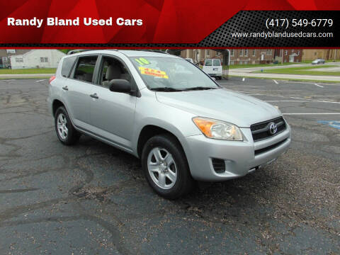 2010 Toyota RAV4 for sale at Randy Bland Used Cars in Nevada MO