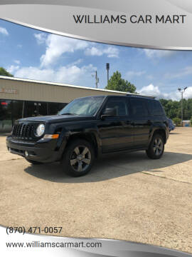 2016 Jeep Patriot for sale at WILLIAMS CAR MART in Gassville AR