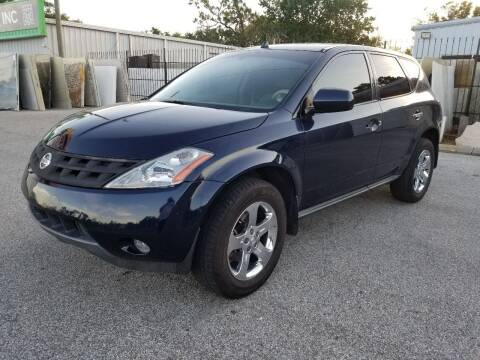 2005 Nissan Murano for sale at Low Price Auto Sales LLC in Palm Harbor FL