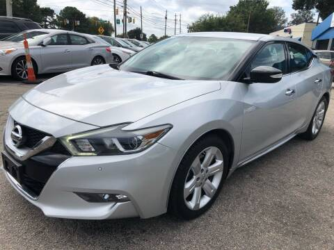 2016 Nissan Maxima for sale at Capital Motors in Raleigh NC