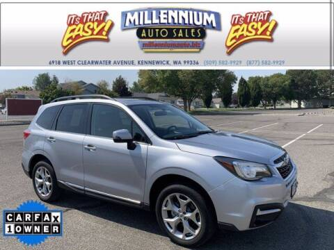 2017 Subaru Forester for sale at Millennium Auto Sales in Kennewick WA