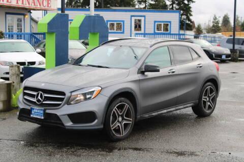 2017 Mercedes-Benz GLA for sale at BAYSIDE AUTO SALES in Everett WA