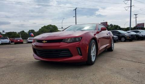 2016 Chevrolet Camaro for sale at International Auto Sales in Garland TX