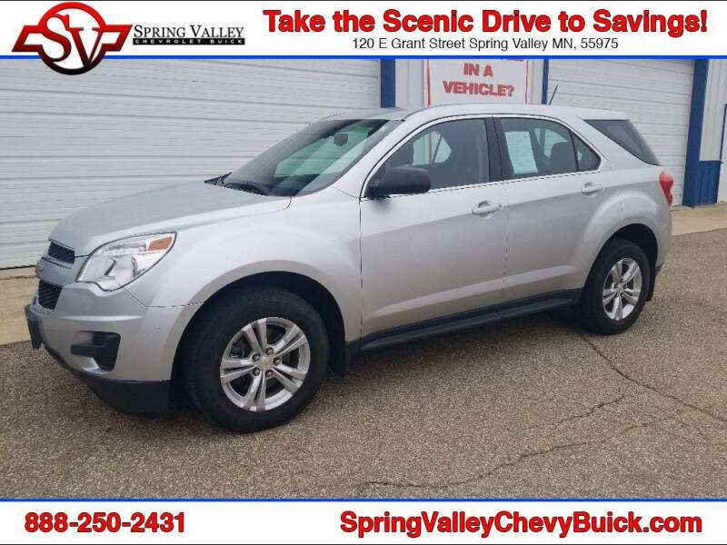 2015 Chevrolet Equinox for sale at Spring Valley Chevrolet Buick in Spring Valley MN
