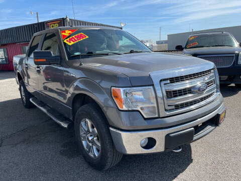 2014 Ford F-150 for sale at Top Line Auto Sales in Idaho Falls ID