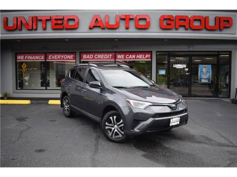 2018 Toyota RAV4 for sale at United Auto Group in Putnam CT