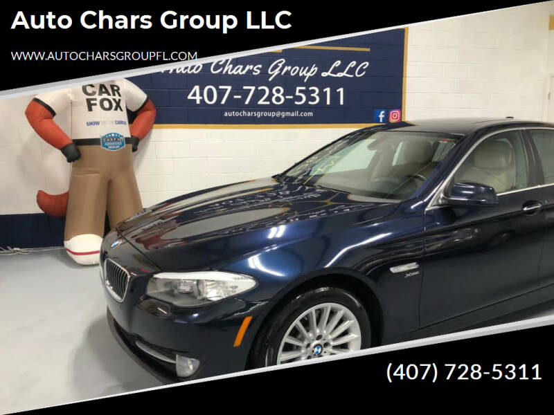 2011 BMW 5 Series for sale at Auto Chars Group LLC in Orlando FL