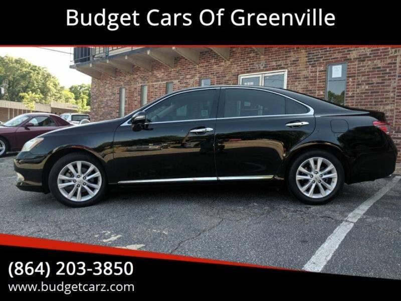 2011 Lexus ES 350 for sale at Budget Cars Of Greenville in Greenville SC