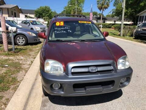 2005 Hyundai Santa Fe for sale at Castagna Auto Sales LLC in Saint Augustine FL