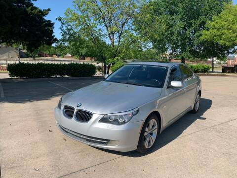 2010 BMW 5 Series for sale at Z AUTO MART in Lewisville TX