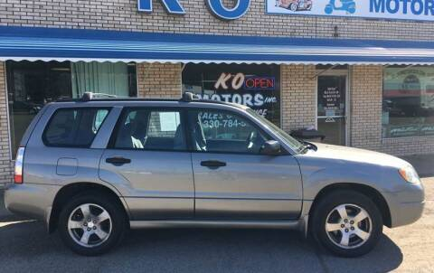 2006 Subaru Forester for sale at K O Motors in Akron OH