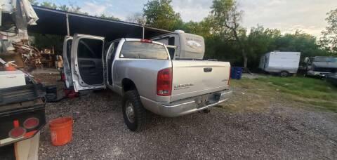 2003 Dodge Ram Pickup 3500 for sale at C.J. AUTO SALES llc. in San Antonio TX