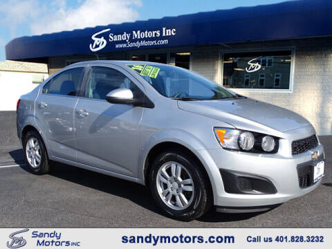 2016 Chevrolet Sonic for sale at Sandy Motors Inc in Coventry RI