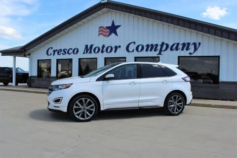 2016 Ford Edge for sale at Cresco Motor Company in Cresco IA