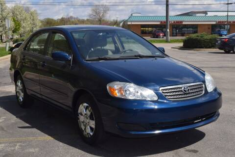2007 Toyota Corolla for sale at NEW 2 YOU AUTO SALES LLC in Waukesha WI