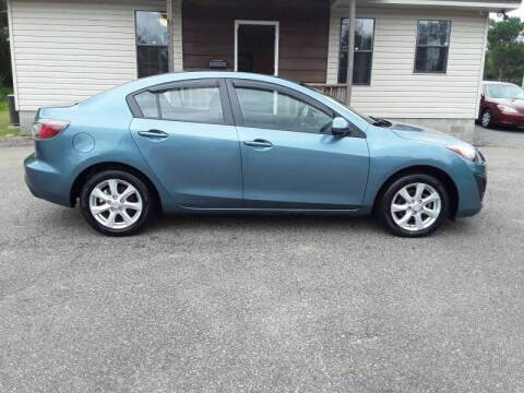 2010 Mazda MAZDA3 for sale at WALKER MOTORS LLC in Hattiesburg MS