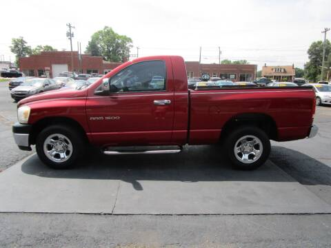 2006 Dodge Ram Pickup 1500 for sale at Taylorsville Auto Mart in Taylorsville NC