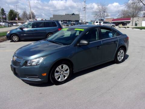 2012 Chevrolet Cruze for sale at Ideal Auto Sales, Inc. in Waukesha WI