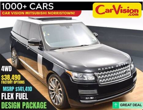 2015 Land Rover Range Rover for sale at Car Vision Buying Center in Norristown PA