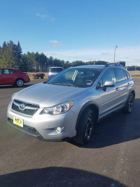 2013 Subaru XV Crosstrek for sale at Jeff's Sales & Service in Presque Isle ME