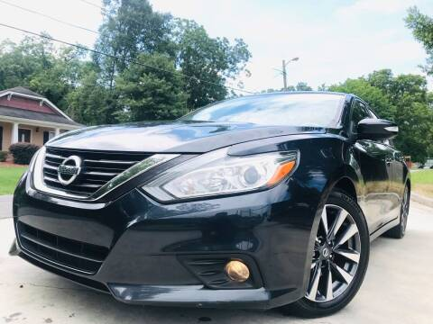 2017 Nissan Altima for sale at Cobb Luxury Cars in Marietta GA